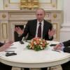 Tentativa de acordo na Ucrânia reúne três chefes de Estado